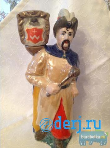 Бутылка-статуэтка для коллекционеров, МОСКВА