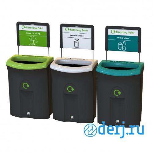 Купить контейнер для раздельного сбора мусора, МОСКВА